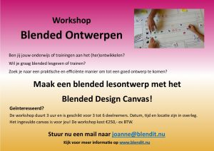 workshop blended design canvas